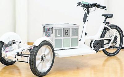 Ein Lastenrad von Last befreit